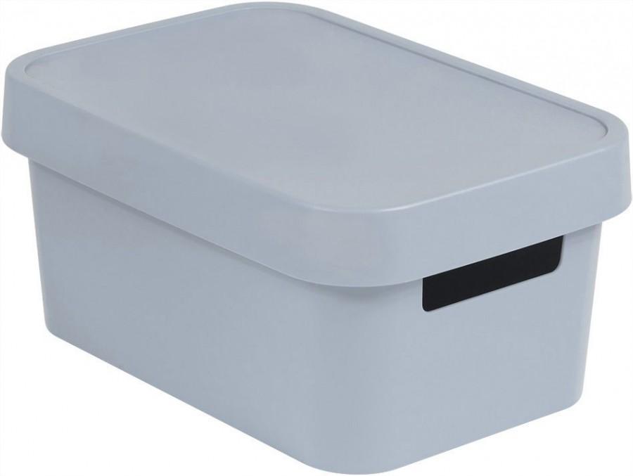 40b522d61 Plastové boxy Úložný box INFINITY 4,5L - šedý | Teramarket